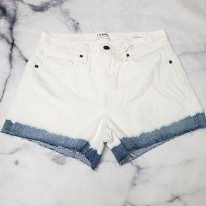 NWT Frame Denim Le Brigette Streamside shorts